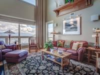 Enjoy panoramic views from this elegantly remodeled
