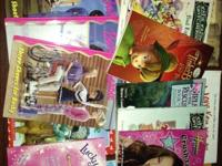 This is a lot of girls books for elementary age girl