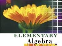 GOOD condition: Elementary Algebra 7th Edition by: