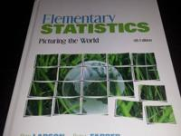 Slightly used Elementary Statistics 5th edition