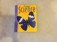1) Science - Harcourt - Grade 3 - Textbook ($3) 2)