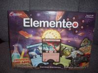 Fresh. Elementeo is a parlor game based on the chemical
