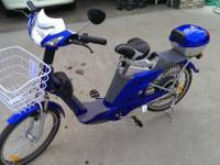 I HAVE AN ELECTRIC BIKE FOR SALE THAT I BOUGHT TWO