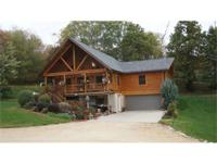 Full log home that has been diligently cared for, found