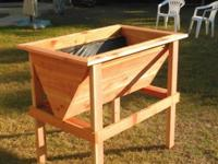 I build custom planters out of western red cedar,