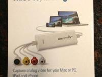 Elgato Video Capture permits you to catch analog video