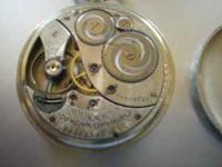 This listing is for a 17 Jewel Elgin Pocket Watch. As