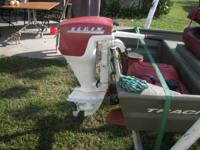 I have a great running 7.5hp boat motor. Starts on