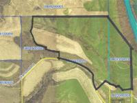 98.8 ACRES MORE OR LESS FARM. Located on the North Edge
