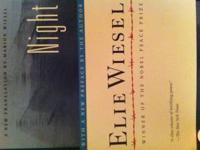 Paperback copy of Night, by Elie Wiesel. Like new.