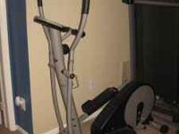 This elliptical is in excellent working condition, the
