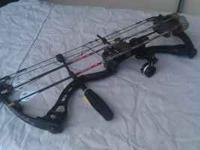 Elite Archery Z28 bow. 60 to 90 lb pull 316 to 320 fps