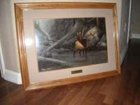 I have a wildlife print in perfect condition for sale.I