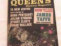 3 Ellery Queens Mystery Magazines. Good condition