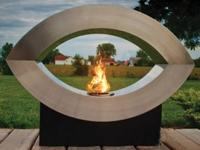 Ellipse of Fire Ethanol Bio-fuel Fireplace Our ethanol