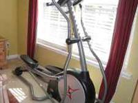 This is a Fitness Gear 820 Elliptical. It has hardly