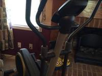 New golds gym brand name elliptical machine. Made use