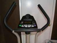 This elliptical is great for exercise and everythings
