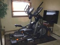 Basically new elliptical. Bought 2 to use together but