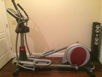 Free Motion 500 Rear Drive Elliptical in excellent