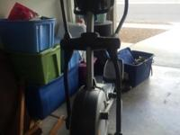 Great Nordic Track elliptical that is only 3 years but