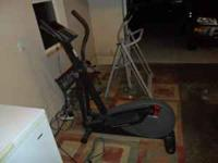 I have an Elliptical Training Bike I bought a few