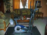 Elliptical Bike Combo in new condition. Has different
