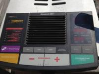 I have an elliptical by Reebok in fantastic shape,