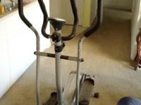 Must See - Elliptical Machine with digital display and