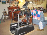 Type:FitnessType:EquipmentElliptical exercise machine.