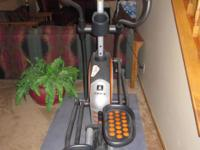 Description Pro-Form 750 Elliptical used less than 10