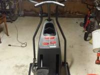 Hey there,. I am offering this elliptical machine