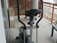 This is a Kettler elliptical machine trainer. I trained
