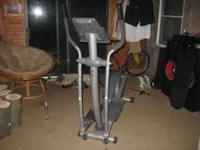 Weslo Momentum 710 elliptical. Good shape, 125.00 OBO.