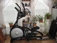 For Sale is a SOLE E95 Elliptical Trainer. My other