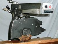 Elmer's Tile Saw. 1 HP Motor. 3450 RPM. 115-230 Volt,