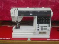 For Sale, in excellent working condition. Elna 8000. 48