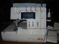 ELNA 925 DCX SERGER that has only been lightly used.