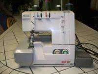 Used but in good condition serger machine come and