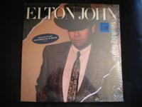 NEW UNOPENED IN ORIGINAL PACKAGING ELTON JOHN ALBUM - -