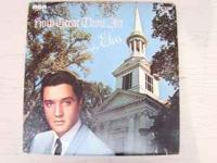 this is a gospel album with elvis. it has several well