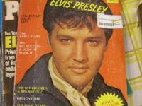 These are Elvis magazines from 1977. They are in superb