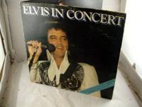 ELVIS PRESLEY - Elvis In Concert - LP Vinyl Record 1977