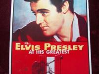 Elvis Presley in Jailhouse Rock - Metal Sign Copyright