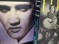 #8 VHS tapes of the best of ELvis Presley , all in
