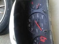 99/00 Si cluster with 140XXX k original miles  In gread