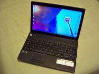 "emachines 15.6"" Laptop. Like new in original box. Has"