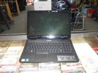 WE HAVE FOR SALE A EMACHINES E525 LAPTOP COMPUTER  IT