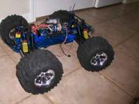 I have three Traxxas Emaxx's for sale. Aluminum one is