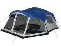 Embark 9 person tent with screen enclosed front porch!